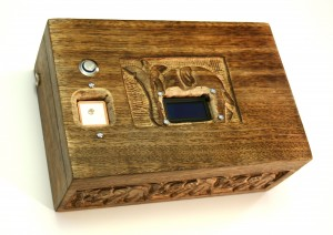 Supercool reverse geocache puzzle box