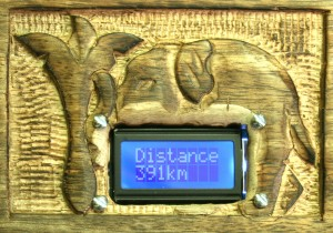 Fig. 2 - Distance 391km