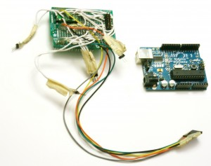 Fig. 6 - Arduino and the custom shield