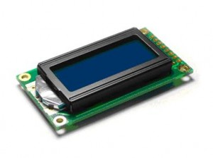 Fig. 9 - The 8x2 Liquid Crystal Display